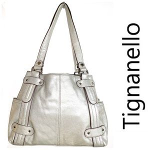 NWT TIGNANELLO Perfect 10 Studded Shopper